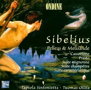 Sibelius:  Pelleas and Melisan