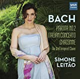 J.S. Bach: Keyboard Partita No.2 in C minor, BWV 826; Italian Concerto in F major, BWV 971; Selections from The Well-Tempered Clavier, Books I & II; Chaconne from Violin Partita No.2, BWV 1004
