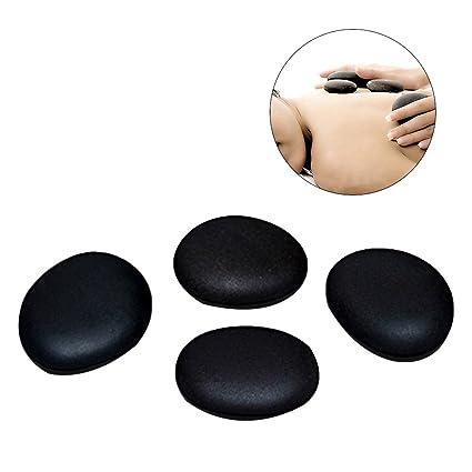 ULTNICE Piedras de masaje piedra pómez para SPA de salud masaje piedra de roca lava natural