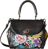 Anuschka Handbags Women's 624 Medium Flap Satchel Vintage Bouquet Handbag