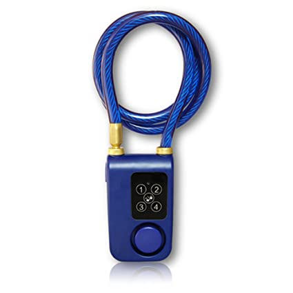 Candado inteligencia impermeable Bluetooth alarma automática ...