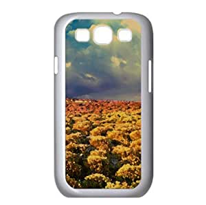 Steppe Vegetation Watercolor style Cover Samsung Galaxy S3 I9300 Case (Mountains Watercolor style Cover Samsung Galaxy S3 I9300 Case)