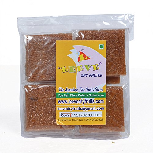 Leeve Dry Fruits Sweet Coconut Chikki - 400 Grams by Leeve Dry Fruits