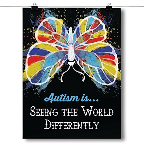 Inspired Posters Autism is Seeing the World Differently Poster Size 18x24