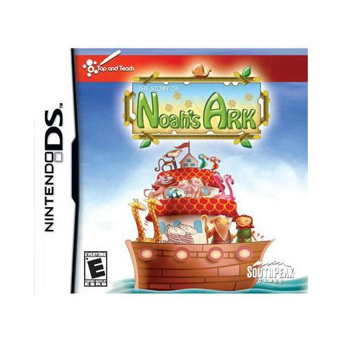 New Southpeak Interactive Noah's Ark Entertainment Nintendo Ds Excellent Performance High Quality