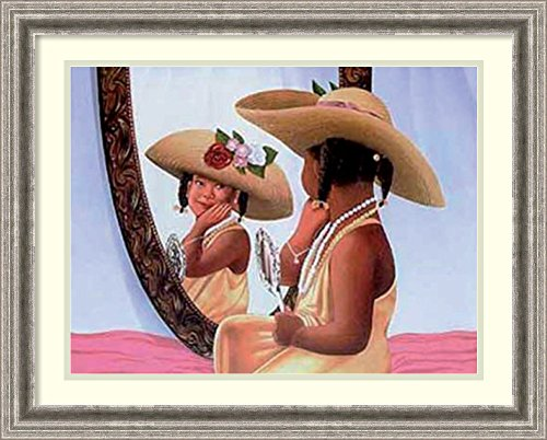 Framed Art Print Playful Reflections By Stanley Morgan
