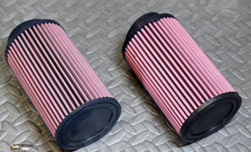 2 x NEW Yamaha Banshee K&N style air filters 26mm STOCK SIZE carbs 28 30mm vitos performance