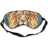 Sleep Eye Mask Head Of Lion Comfortable Eye Masks Ultimate Sleeping Aid Blindfold Blocks Light