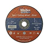 Weiler 56281 4-1/2'' x 0.045'' Wolverine Type 1 Thin Cutting Wheel, A60T, 7/8'' A.H. (Pack of 50)
