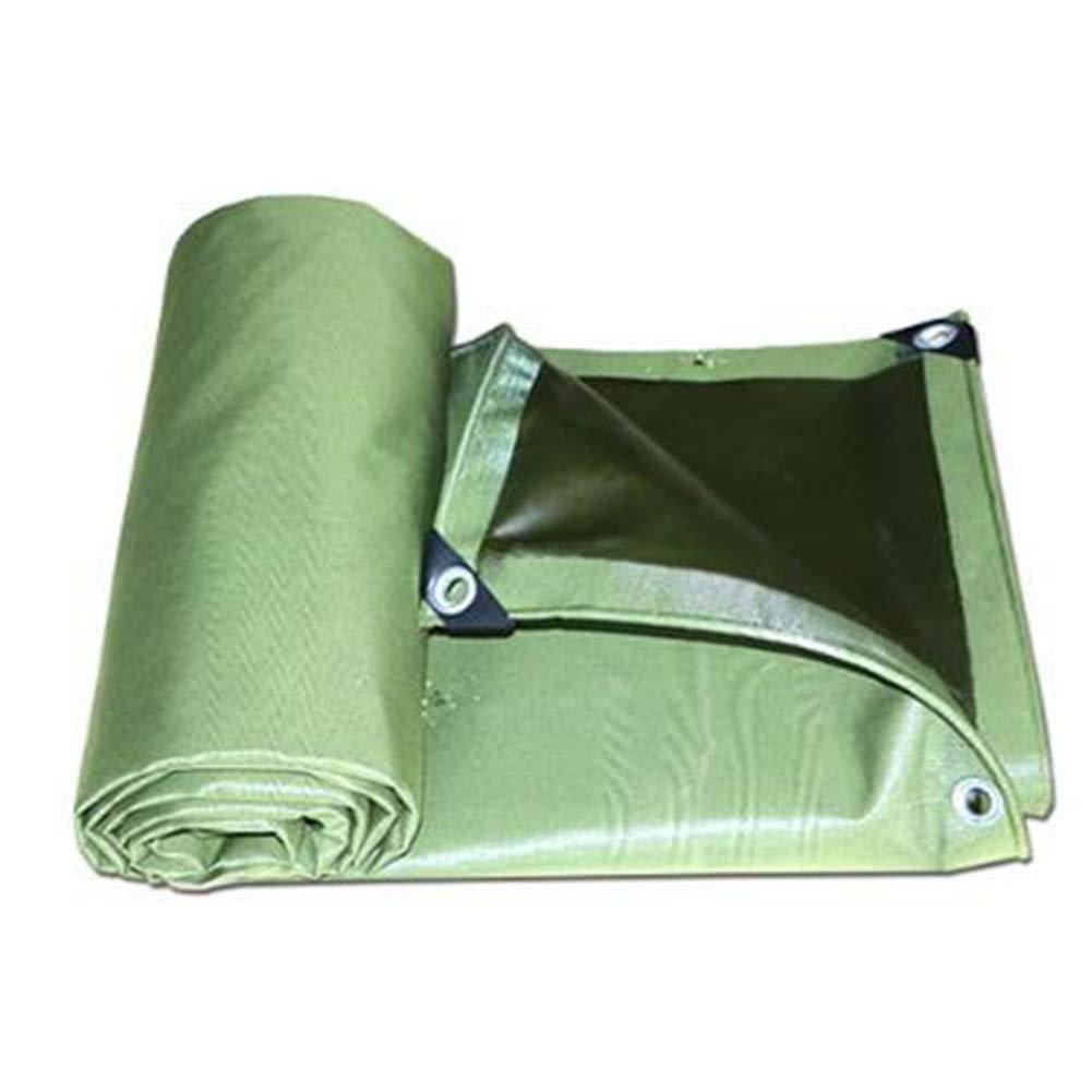 LIXIONG オーニング テント レインカバー 屋外 日焼け止め トラック 抗UV 断熱 、13サイズ 、700G /㎡ 、0.75mm (色 : アーミーグリーン, サイズ さいず : 2.8x3.8m) B07FYSM3DH 2.8x3.8m|アーミーグリーン アーミーグリーン 2.8x3.8m
