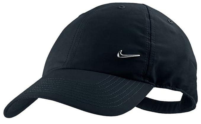 Nike - Gorra de béisbol - para Hombre Negro Negro Talla:n: Amazon ...