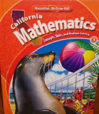 California Mathematics Grade 3 (Concepts, Skills, and Problem Solving)
