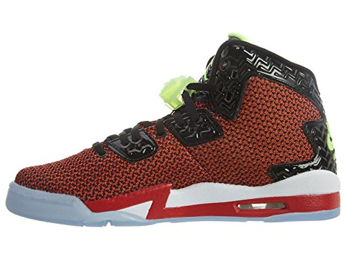 Nike Air Jordan Spike Forty BG Zapatillas de deporte, Niños Rojo / Negro / Blanco (Unvrsty Red / Ghst Grn-Blk-White)