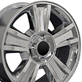 20x8.5 Wheel Fits GM Trucks & SUVs - Chevy Tahoe Style Chrome Rim, Hollander 5416