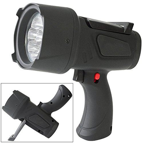 Superbright 9 LED Handheld Spotlight Torch with Batteries Included