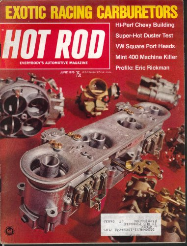 (HOT ROD Chevy Duster Volkwagen Square Port Heads Eric Rickman Datsun ++ 6 1970)