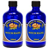 (2 Pack) - Natural By Nature Oils - Witch Hazel | 100ml | 2 PACK BUNDLE