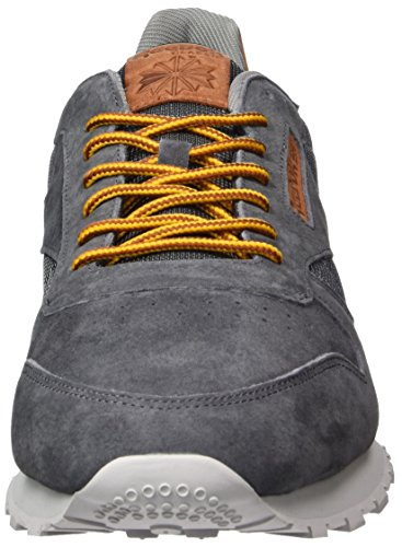 Blue Classic steel Ginger horizon Grey Homme Reebok ash Solar semi Gold Baskets Leather Ol orange Basses Gris FCnTPq1w
