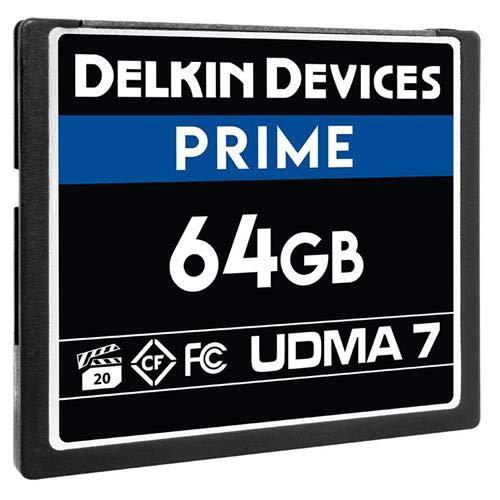 - Delkin 64Gb Compact Flash Memory Card 1050x [DDCFB105064G]
