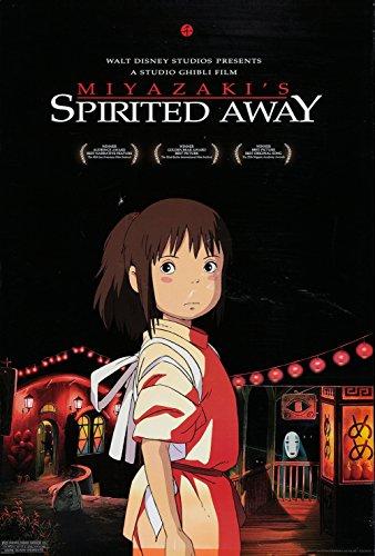 Miyazaki's Spirited Away (2001) Movie Poster 24x36 (Spirited Away Movie Poster)