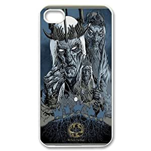 Custom High Quality WUCHAOGUI Phone case Lord Of The Rings Protective Case For Iphone 4 4S case cover - Case-4