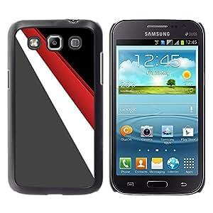 MOBMART Carcasa Funda Case Cover Armor Shell PARA Samsung Galaxy Win I8550 - Shaped Triangle Colored Pattern