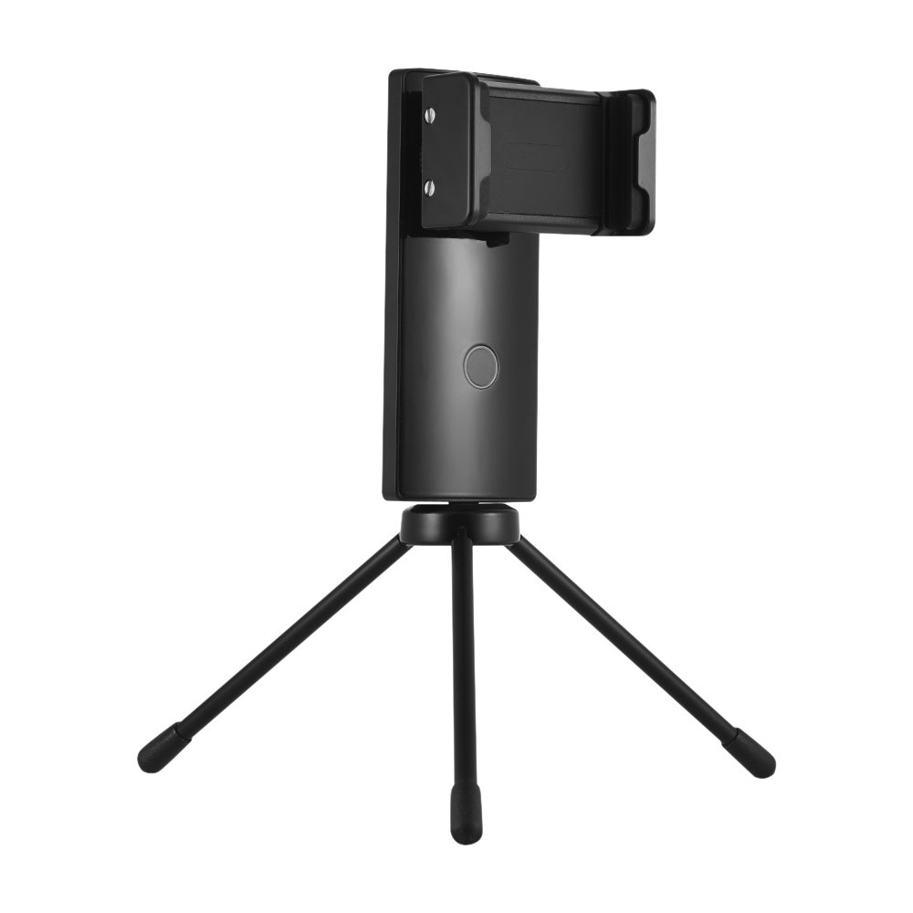Andoer Wewow S1 Mini Smartphone Video Stabilizer Portable 1-Axis Gimbal Support Horizontal and Vertical Shooting 45° Shooting Smart Stabilization for Web Live Travel Family Time Short Videos