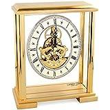 London Clock - 02085 or carré squelette Horloge de cheminée