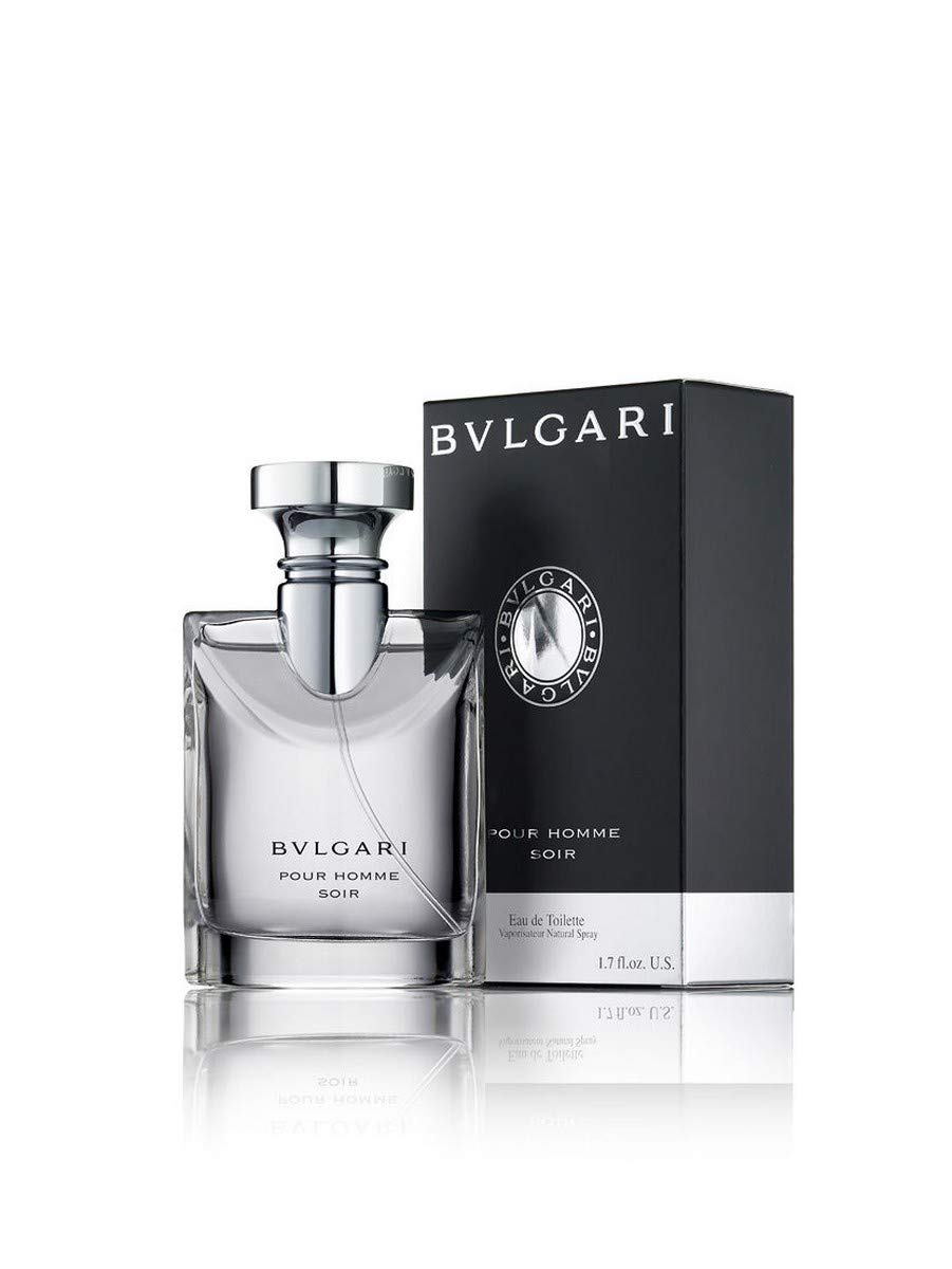 Bvlgari Pour Homme Soir By Bvlgari For Men, Eau De Toilette Spray, 1.7-Ounce Bottle by BVLGARI (Image #1)