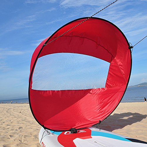 5 opinioni per Huya Force 42 pollici Downwind Kayak Vela Remo, Canoa Kit Sail Immediato-
