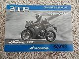 2009 Honda Hurricane 1000 Owners Manual CBR1000 CBR 1000 RR/A