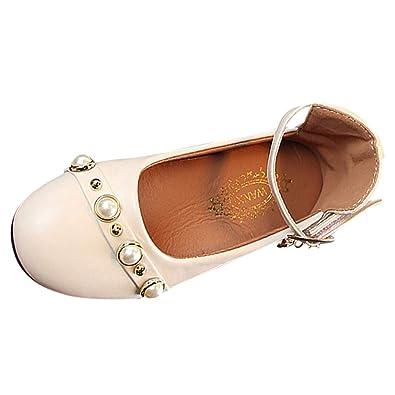 Topgrowth Ballerine Bambina Eleganti Sneaker Scarpe di Pelle Scarpe Casual  Festa Bimba Primigi Primavera (24 487af073ba0