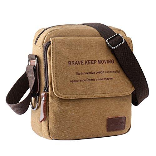 Vintage Retro Messenger bag Outdoor Casual Canvas Crossbody Shoulder Bag - Discount Outlet Gucci