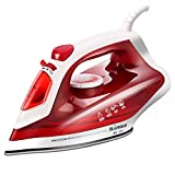 Ultra Steam iron With Non-stick Ceramic soleplate Vertical Steam,2000w,260ml Water tank-Red