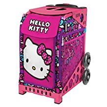 ZÜCA Sport Hello Kitty Bow Party Rolling Bag (choose your frame color)