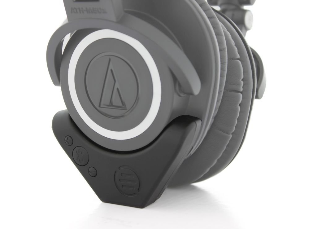 Audio-Technica ATH-M50x Professional Studio Monitor Headphones with Bluetooth Adapter-Amplifier BAL-M50X