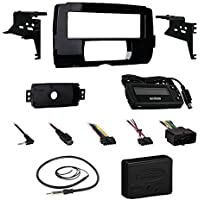 Metra 99-9700 Harley Dash Installation Kit For Stereo Receivers Bundle Combo With Metra Axxess ASWC-1 Universal Steering Wheel Handle Bar Control Interface for Motorcycle + Enrock 22 Radio Antenna