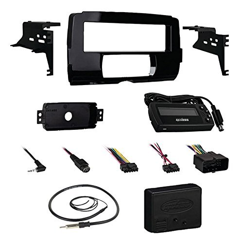 Metra 99-9700 Harley Dash Installation Kit For Stereo Receivers Bundle Combo With Metra Axxess ASWC-1 Universal Steering Wheel Handle Bar Control Interface for Motorcycle + Enrock 22
