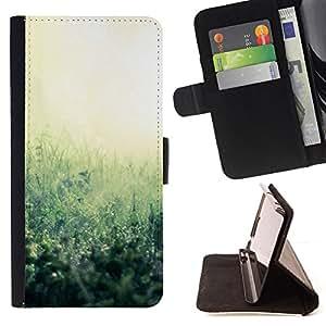 ForSamsung Galaxy S3 MINI i8190 (NOT S3),S-type Planta Naturaleza Forrest Flor 38- Dibujo PU billetera de cuero Funda Case Caso de la piel de la bolsa protectora