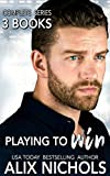 3 hunky French athletes. 3 passionate women who fall under their spell. 3 hot and tender love stories.BOOK 1: PLAYING WITH FIREEmbroiderer Uma is all kinds of wrong for single dad Zach.She's his son's nanny, still chaste at 23... and fallin...