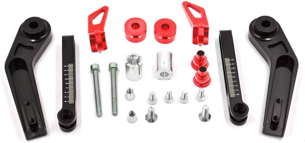 Protection de levier de frein et dembrayage r/églable en aluminium CNC BJ Global Poign/ée Grip
