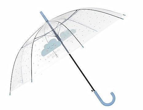 Paraguas transparente Nube
