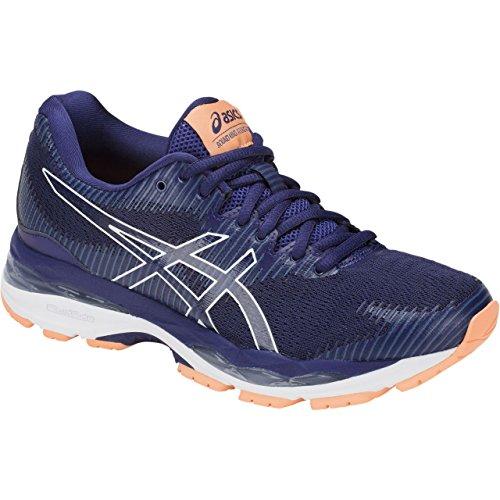 ASICS Women's Gel-Ziruss 2 Running Shoe Blue Print-white