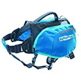 Daypak Dog Backpack Hiking Gear For Dogs by Outward Hound, Medium, Blue