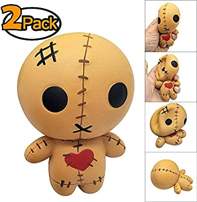 FVAL Squishy Kawaii, Squishy Juguete 2-Pack, Soft Exquisite Horror ...