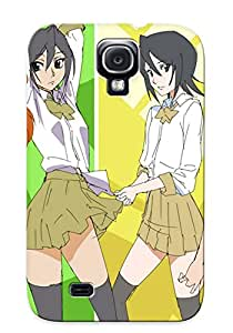 Galaxy S4 Hard Back With Bumper Silicone Gel Tpu Case Cover For Lover's Gift Anime Bleach