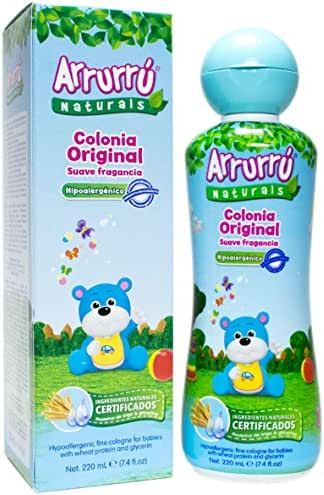 Arrurru Naturals Original Cologne for Babies~Colonia Original Ninos 7.4oz