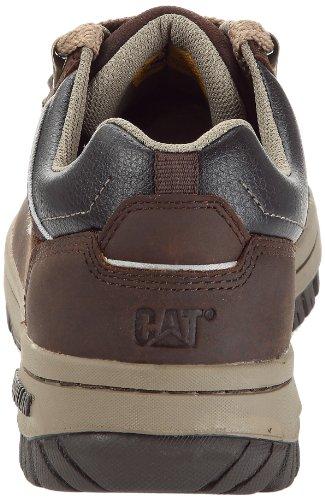 Cat Footwear APA P713926 - Zapatos casual de cuero para hombre, color negro, talla 46 Marrón (Braun (Braun))