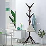 Tree Shape Freestanding Coat Rack Solid Wood Eco-friendly - Best Reviews Guide