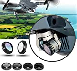 DZT1968 6pc/set Portable black MCUV CPL ND4 ND8 ND16 ND32 HD Thin Camera Lens Filters For DJI MAVIC Pro Drone